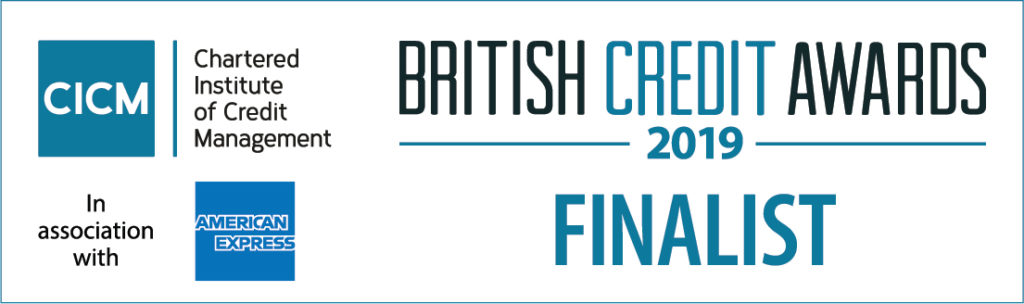 Finalist British Credit Awards 2019 logo