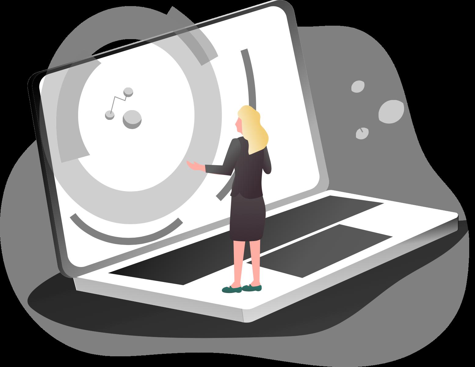 Client Login illustration
