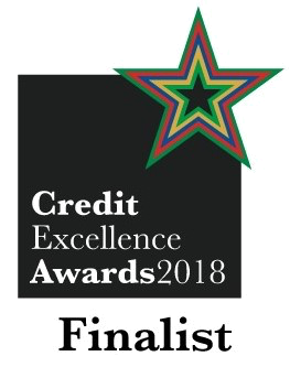 Finalist Credit Excellence Awards 2018 logo