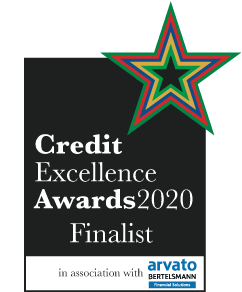Finalist Credit Excellence Awards 2020 logo
